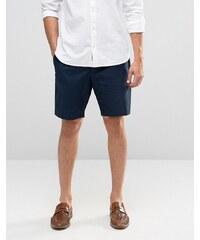 ASOS - Baumwoll-Shorts in verwaschenem Marineblau - Marineblau