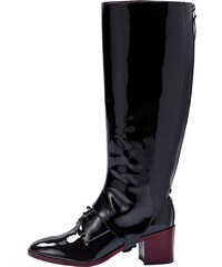Aeyde AXLG Bottes black patent