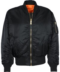 Alpha Industries Ma-1 Bomberjacke black