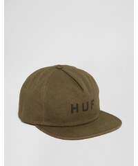HUF - Casquette à bride arrière pressionnée - Vert militaire - Vert