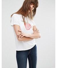 Levis Levi's - T-shirt avec logo pomme - Blanc