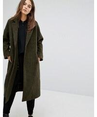 Parka London - Rosie - Manteau à carreaux - Vert