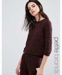 Vero Moda Petite - Pull ample - Marron