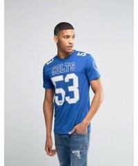 Majestic - Colts - T-shirt en maille de jersey - Bleu