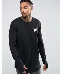 Good For Nothing - T-shirt à manches longues et petit logo - Noir