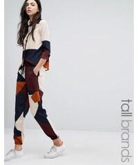 Vero Moda Tall - Pantalon de jogging color block - Multi