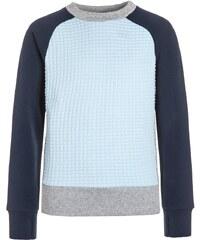 adidas Performance ATHLETICS Sweatshirt medium grey heather/ice blue/collegiate navy