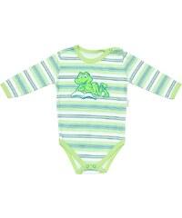Mamatti Chlapecké proužkované body Žába - zelené