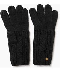 Esprit Pletené dotykové rukavice s náplety