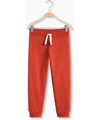 Esprit Pantalon molletonné, 100 % coton bio