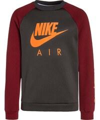 Nike Performance HYBRID Sweatshirt anthracite/team red/total orange