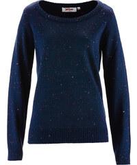 John Baner JEANSWEAR Pullover langarm in blau (Rundhals) für Damen von bonprix