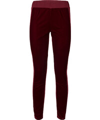 RAINBOW Hose mit Samteinsatz in rot für Damen von bonprix