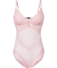 BODYFLIRT Body in rosa für Damen von bonprix