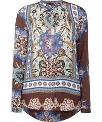 Emily Van den Bergh Bluse mit ornamentalem Muster
