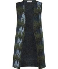 Stefanel Strickweste aus flauschiger Mohairmischung