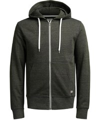 JACK & JONES Sweatshirt mit Reiverschluss Lässiges