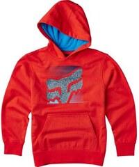 Dětská mikina Fox Home Bound Po Fleece flame red