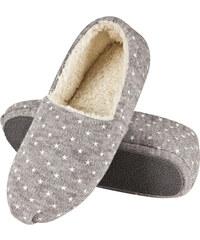 SOXO Dámské šedé pantofle Stars