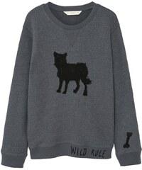 Mango Kids Sweat-shirt - charbon