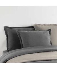 C Design Home Taie d'oreiller en lin - taupe