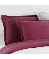 C Design Home Taie d'oreiller en lin - cerise