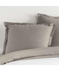 C Design Home Taie d'oreiller en lin - mastic