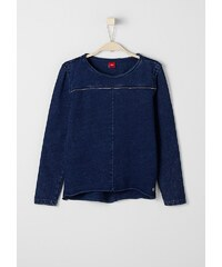 s.Oliver RED LABEL Junior Sweatshirt im Garment-Dye für Mädchen