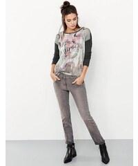 Taifun Hose Jeans verkürzt »Boyfriend-Jeans mit schmalem Bein, Carla«