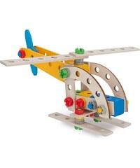 Heros Multifunktionsbausatz mit 4 Modellvarianten aus Holz, »Constructor Kranwagen, 65 tlg.«