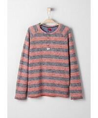 s.Oliver RED LABEL Junior Melierter Streifen-Sweater für Jungen