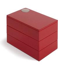 Umbra Šperkovnice Spindle červená 308712505/S