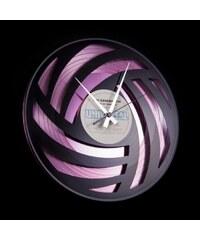 Designové nástěnné hodiny Discoclock 005PB Pure Wool 30cm