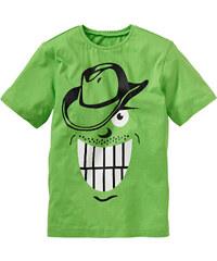 bpc bonprix collection T-Shirt, Gr. 116-170 kurzer Arm in grün für Jungen von bonprix