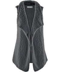 bpc bonprix collection Gilet sans manches multi-matière - designed by Maite Kelly gris femme - bonprix