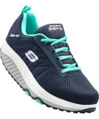 Tennis Shape-up de Skechers bleu chaussures & accessoires - bonprix