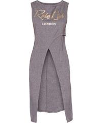 RAINBOW T-shirt long gris sans manches femme - bonprix