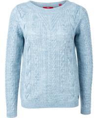 s.Oliver Zopfstrick-Pullover aus Woll-Mix