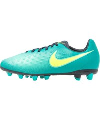 Nike Performance MAGISTA OPUS II AGPRO Chaussures de foot à crampons rio teal/volt/obsidian/clear jade/hyper turquoise