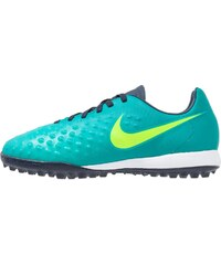 Nike Performance MAGISTA OPUS II TF Chaussures de foot multicrampons rio teal/volt/obsidian/clear jade/hyper turquoise