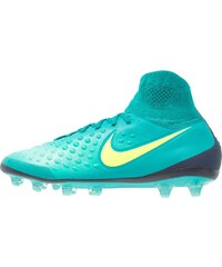 Nike Performance MAGISTA ORDEN II AGPRO Chaussures de foot à crampons rio teal/volt/obsidian/clear jade/hyper turquoise