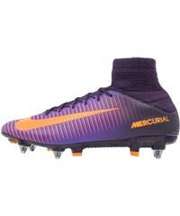 Nike Performance MERCURIAL VELOCE III DF SGPRO Chaussures de foot à lamelles purple dynasty/bright citrus/hyper grape/total crimson