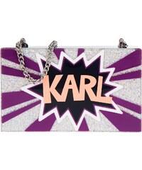 Karl Lagerfeld Sacs à Bandoulière, K/Pop Minaudiere Clutch Dark Sapphire en multicolore