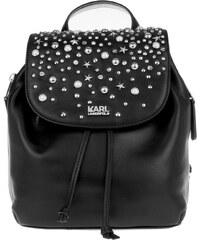 Karl Lagerfeld Sacs à Bandoulière, K/Rocky Studs Small Backpack Black en noir
