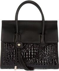 Versace Sacs portés main, Vanitas Altea Tote Black Nappa en noir