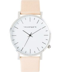 Thread Etiquette Minimalist Armbanduhr Silberfarben/Sand 267
