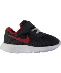 Nike Tanjun Trainers Infant Boys, anthracite/red