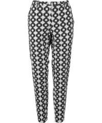 Golddigga Floral Pants Ladies, white/black aop