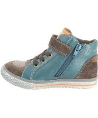 Indigo walk wild Sneaker high brown/light blue