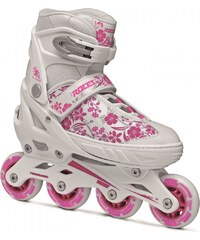 Roces Compy 8.0 Inline Skates Girls, white/pink